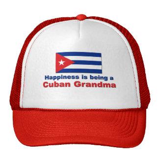 Happy Cuban Grandma Cap