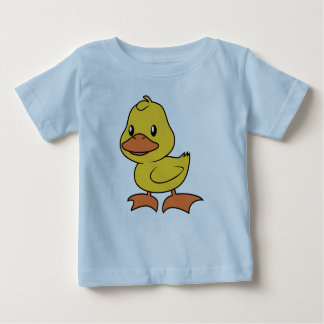 Happy Cute Yellow Duckling Baby T-Shirt