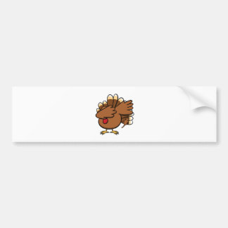 Happy Dabsgiving! Dabbing Turkey Bumper Sticker