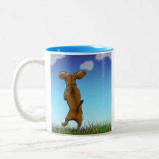 Happy Dachshund Mug