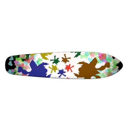 HAPPY Dance = Animal Kingdom Graphic Skate Board Deck