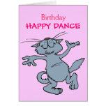 Happy Dance Happy Birthday Dancing Cartoon Cat