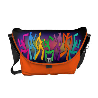 Happy Dance Messenger Bag
