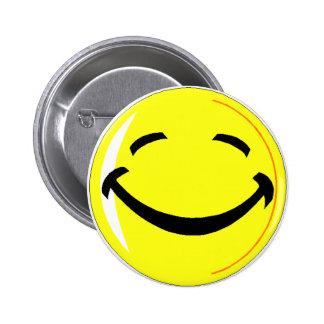 Happy Day 6 Cm Round Badge