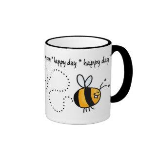 happy day bee trail mug
