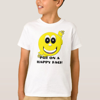 Happy Day Face T-Shirt