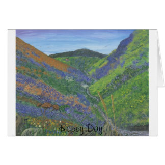Happy Day Greeting Card - Spring Time in the Mts