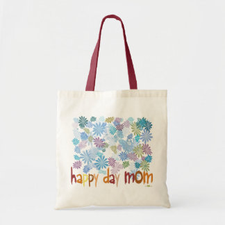 Happy Day Mom Budget Tote Bag