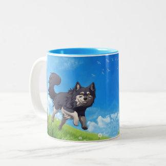 Happy day mug - Finnish Lapphund