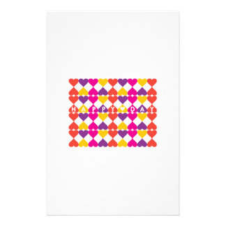 Happy Day Personalized Stationery