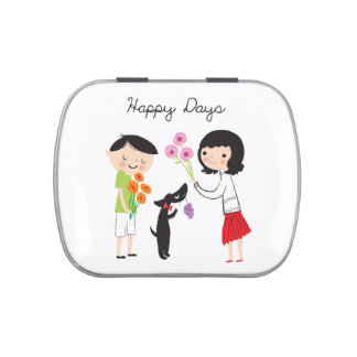 Happy Days Coco & Us candy tin