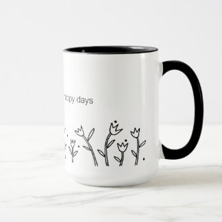 Happy Days Mug - Sarah Fielke BOM 2016