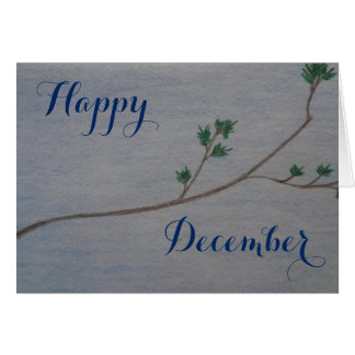 Happy December Holiday Card