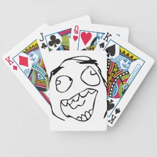 Happy derp -meme poker cards