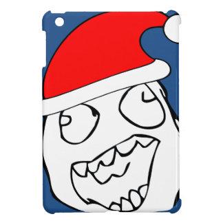 Happy derp xmas meme iPad mini cases