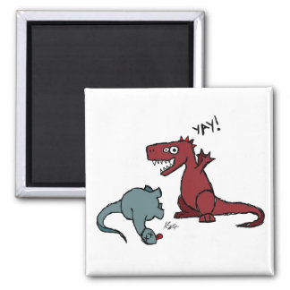 Happy Dinosaur Magnet