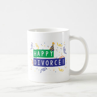 Happy Divorce Basic White Mug