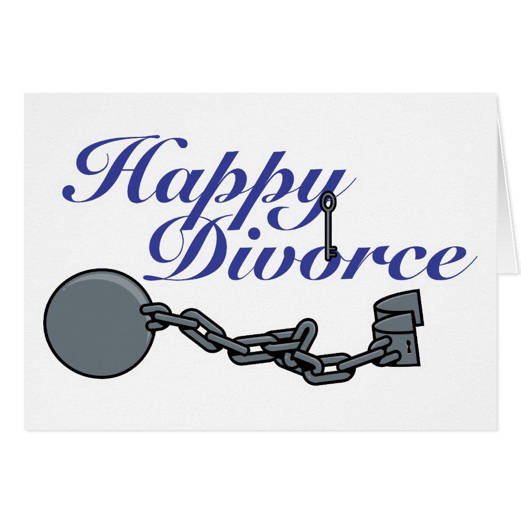 Happy Divorce Cards Happy Divorce Greeting Card |