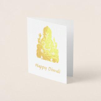 Happy Diwali Foil Card