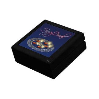Happy Diwali Ganesha Rangoli - Tile Gift Box