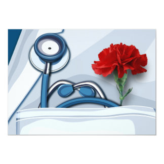 Happy Doctors' Day Customizable Greeting Cards 13 Cm X 18 Cm Invitation Card