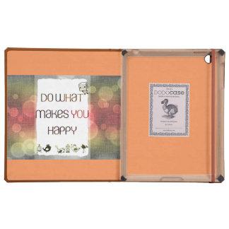 +++ Happy #DODO case iPad Folio Cover