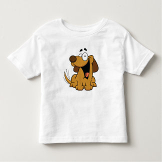 Happy Dog Kid's Wear Toddler T-Shirt