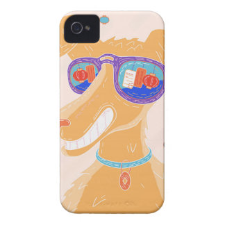 Happy Dog Year iPhone 4 Cover