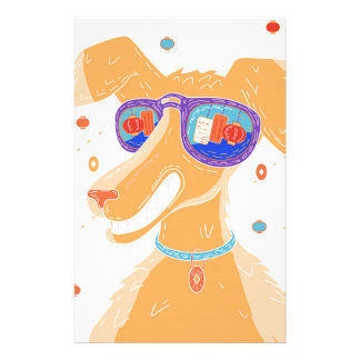 Happy Dog Year Stationery