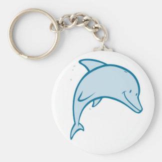 Happy Dolphin Key Ring