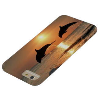 Happy Dolphins iP6+ Tough iPhone 6 Plus Case
