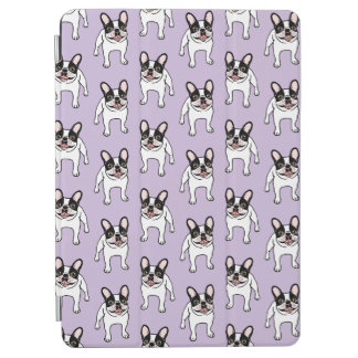 Happy Double Hooded Pied Frenchie iPad Air Cover