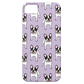 Happy Double Hooded Pied Frenchie iPhone 5 Cover