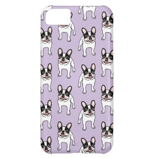 Happy Double Hooded Pied Frenchie iPhone 5C Case
