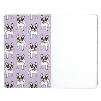 Happy Double Hooded Pied Frenchie Journal