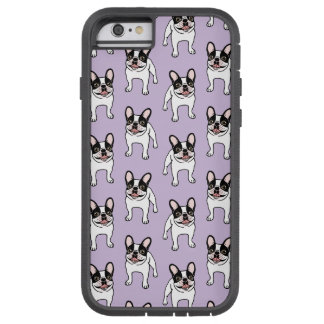 Happy Double Hooded Pied Frenchie Tough Xtreme iPhone 6 Case