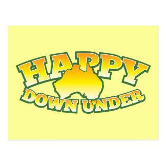 Happy Down under Postcard