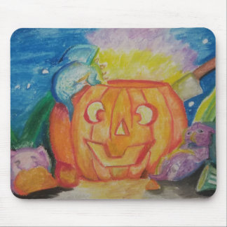 Happy Dragonween Mouse Pad