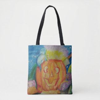 Happy Dragonween Tote Bag