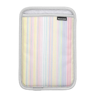 Happy Dream -Elegant Colorful stripe- iPad Mini Sleeve