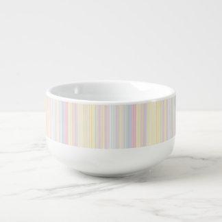 Happy Dream -Elegant Colorful stripe- Soup Mug