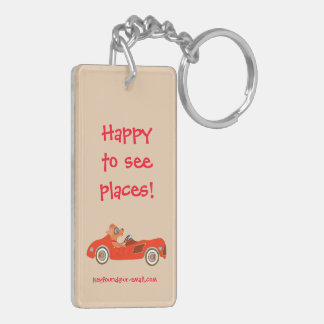 Happy Driving by The Happy Juul Company Key Ring