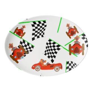 Happy Driving by The Happy Juul Company Porcelain Serving Platter