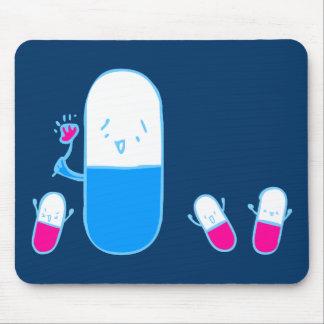 Happy Drugs Doodle Art Mousepad