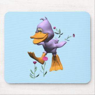 Happy Duck Mouse Pad