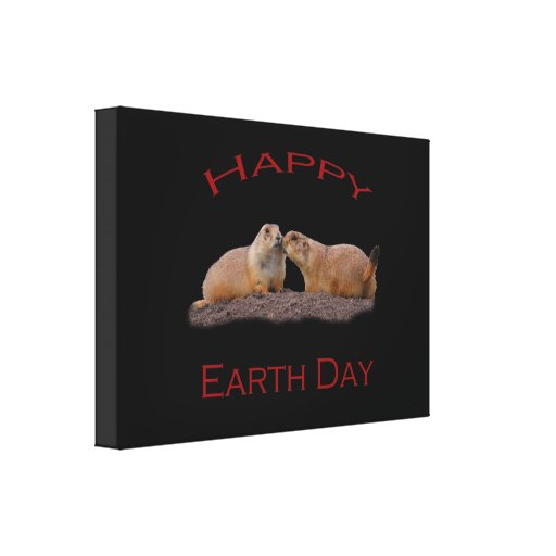 Happy Earth Day Canvas Prints