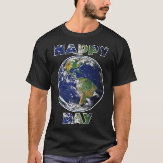 Happy Earth Day Environmental T Shirt