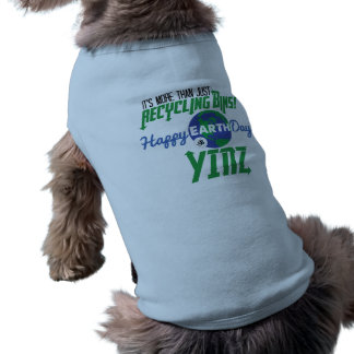Happy Earth Day Yinz Pet Tank Top Sleeveless Dog Shirt