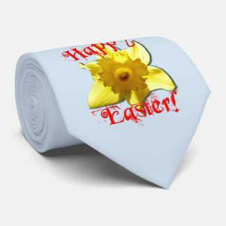Happy Easter, 02.3T Daffodils Tie