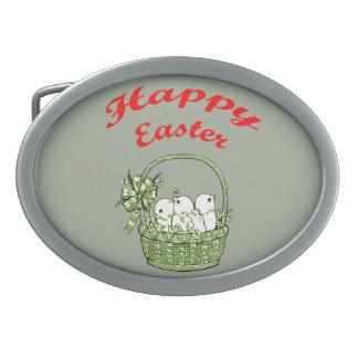Happy Easter 4 Belt Buckle